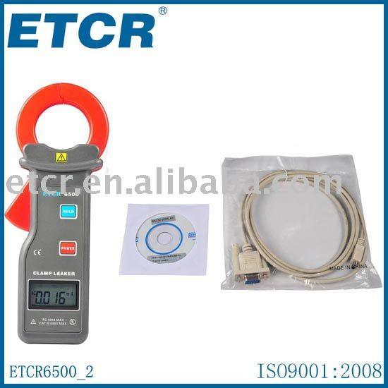 Токоизмерительные клещи ETCR6500 High Accuracy Clamp Leaker