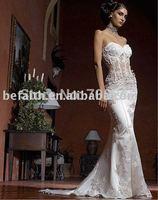 2014 New Freeshipping Trumpet /Mermaid Bridal Wedding Dress Wedding Gown  2257