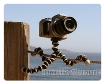 New Medium Flexible Tripod (Grey Black) for cameras,camcorders,SLR,SLRs,DLSR Drop Shipping