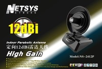Free DHL/UPS shipping !!! 2011 Latest 2.4GHz 18dBi SMA High Gain Dish Directional Antenna for WiFi/Wireless Network
