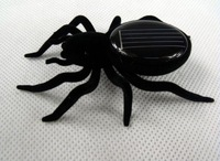 New Mini Solar Power Spider Robot Insect Toy Fun Xmas