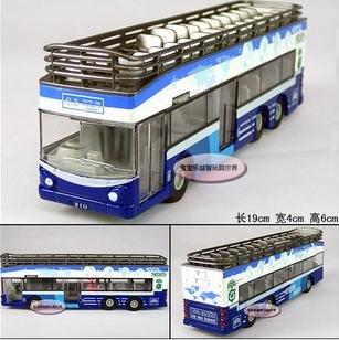 Frete grátis - Atacado e retai luxo double-decker open-top passeios de ônibus / Tópicos home / som de presente verde / Natal(China (Mainland))