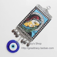 12pcs/lot Oriental Evil Eye Wall Rug with Virgen Mary /Marry chrismas gift