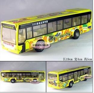 Frete grátis - presente Atacado e retai Taipei Bus / liga de modelos de carros / Natal(China (Mainland))
