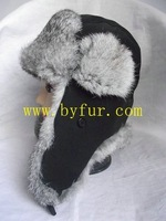 rabbit fur hat rabbit hat BY301