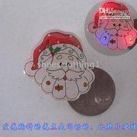 Paypal accept!hotting flashing brooch ,christmas shine brooch