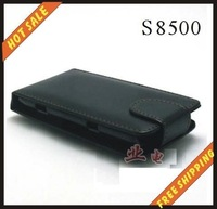 Free shipping --New high quality leather case cellphone for SUMSUNG  S8500