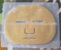 wholesale 50pcs/lot Gold Collagen Moisturing Facial Mask FREE SHIPPING