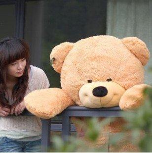 "70"" 180cm Giant Huge Big Stuffed Animal Teddy Bear Toys Brown"