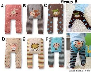 Free shipping, Smaple order! christmas baby PP Pants infant pant size: 80 90 95 3pcs/lot hot selling