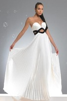 any color/size white bridal gowns satin wessing dress A-line Tube Dress neckline wedding gowns robes d4