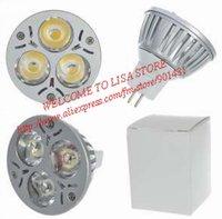 MR16 3W 3-LED 270-Lumen 3250K Warm White Light Bulb (12V)