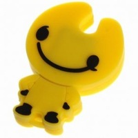 Best Sell High Quality Low Price 16GB Cartoon USB Flash Memory Drive Stick Yellow Free Shipping