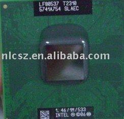 Free shipping cheap price Intel CPU T2310 SLAEC 533MHz laptop