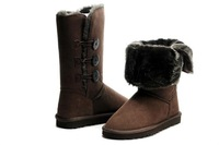New arrival boots 1873 chocolate, the Christmas' presents, triplet button boots 1873, Glamour lady Boots, quick shipping