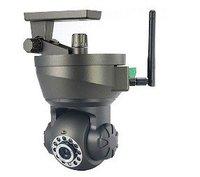 wireless IP WiFi Internet Pan Tilt PTZ Dual Audio Camera Cam Free Shipping