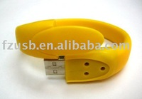 Custom Bracelet USB Flash Drive 1GB/2GB/4GB/8GB/16GB, Real Capacity,Free shipping (Free shipping for more than 30pcs)