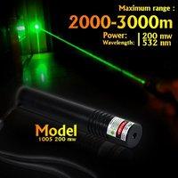 Green Laser Pointer (1005) Wavelength 532nm 200mw Long Distance Pointer