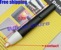 2pcs free shipping Voltage Detector Pen Non-Contact AC 90~1000V Tester Pen