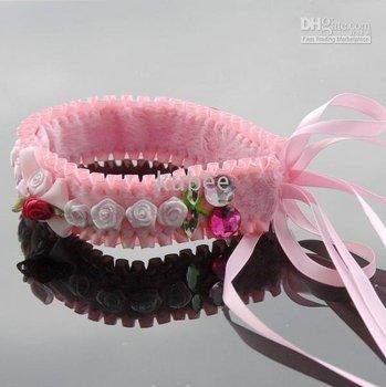 Cabelo arcos lace headband laços de fita flor Mix 30 pcs Kroea Anita bebê hairlaces faixa de cabelo menina bonito