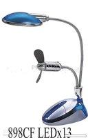 Free shipping+20pcs Lamp USB Fan LIGHT 13 LED lights / USB Light !!