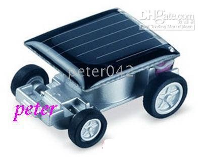 Free shipping+20 pcs smallest Solar Powered Race Car Racer Toy ,solar toy !!!(China (Mainland))