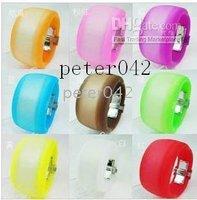 Free shipping+ 10pcs cool LED watches / Scrub fashion watch!!