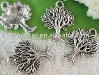 FREE SHIPPING 150pcs Tibetan silver tree charm A10394