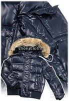 Hot Designer Boys' Outerwear New Winter coat ,kids Coat Down fashion Warm jacket all size