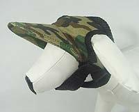 Wholesale 20pcs/lot NEW GREEN CAMO Camouflage DOG HAT,pet hats has SIZE:S/M/L