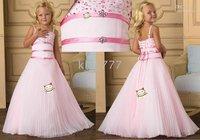 Christmas wedding/party/flower girl dress/Girls' Clothing/princess dress/custom size F37
