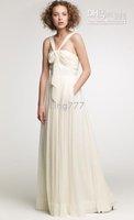 champagne, bridesmaid dress Material: Chiffon, Colour: