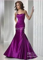 Christmas Hot Sale! store Purple Quinceanera prom ball Evening dress Lace-up Size*8