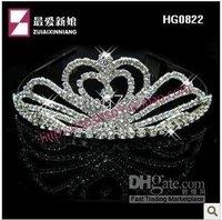 Crown Bridal Jewelry Bridal Hair HG0822 Bridal Crown Crystal