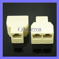 CAT5 RJ45 Network Splitter Cable Extender Plug Coupler