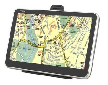 "Free Map-5"" Portable High Definition 4G Car GPS Navigator with Bluetooth - Mini Card"