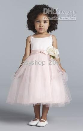 - Custom-made purple flowert girl party dress/gown Junior Bridesmaid Dresses AO81(China (Mainland))