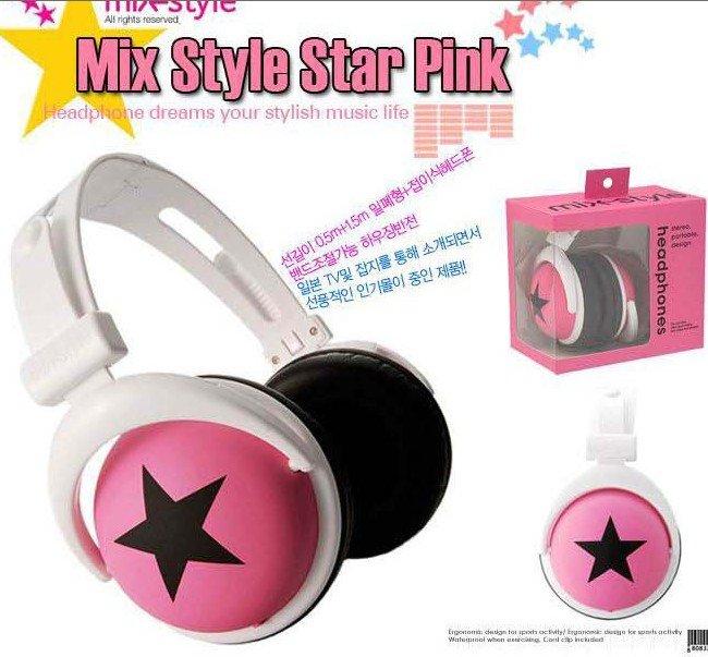 MOQ: 1pcs Free Shipping retail 3.5mm mix style headphones for mp3 mp4 notebook/ fashion folding headphones(China (Mainland))