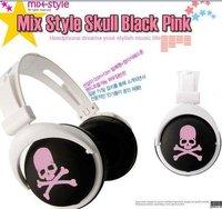 MOQ: 1pcs Free Shipping retail 3.5mm mix style headphones for mp3 mp4 notebook/ fashion folding headphones