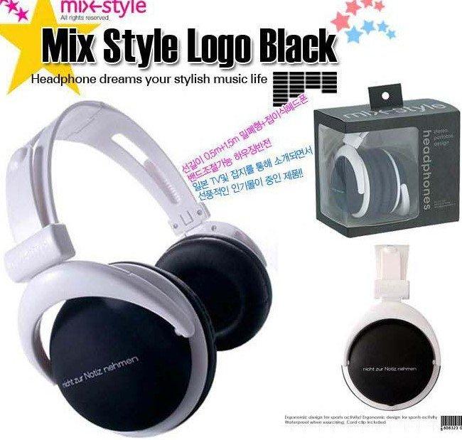 MOQ: 1pcs, Free Shipping retail 3.5mm mix style headphones for mp3 mp4 notebook/ fashion folding headphones(China (Mainland))