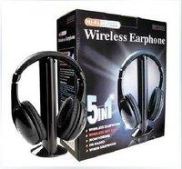5 in 1 Hi-Fi Wireless Earphone Headphone Free shipping