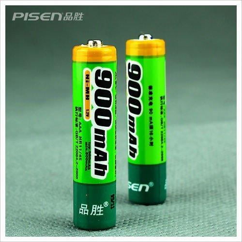Wholesale! High Energy AAA Ni-MH Rechargeable Battery 900mAh Batteries 1.2V Genuine Pisen 10pcs/lot(China (Mainland))