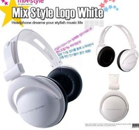Free Shipping 25pcs/lot 3.5mm mix style headphones for mp3 mp4 notebook/ fashion folding headphones