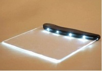 Free shipping wholesale LED Night Book Reading Lightwedge ,Paperback Light Panel