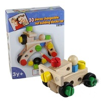 Baby Useful intelligence toys,Baby Educational Toys, Nut car  Free shipping