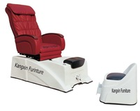 China Manuafacturer Superior Leather Salon Pedicure SPA Massage Chair KZM-S086 with Plug110V-220V