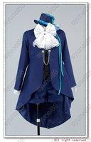 Black Butler Kuroshitsuji Ciel Cosplay Costume Free Shipping Custom Made ver1