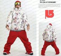 Free Shipping!! NEW 2010 Men B***ONSki Snowboard Coat Outerwear