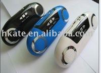 free shipping 10pcs/lot portable mini speaker support SD / Usb  AT-812