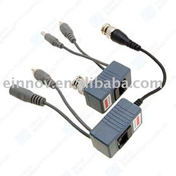 Power Video Audio Camera Balun UTP Network Transceiver F21